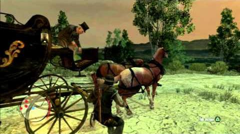 "Red Dead Redemption - mission ""Can a Swindler Change His Spots?"""