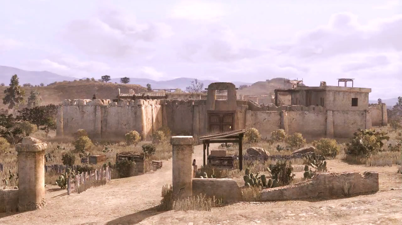 Fort mercer red dead wiki fandom powered by wikia for The mercer