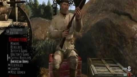 Red Dead Redemption Multiplayer all Characters & Mounts