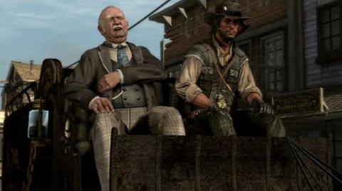 "Red Dead Redemption - mission ""Old Swindler Blues"""