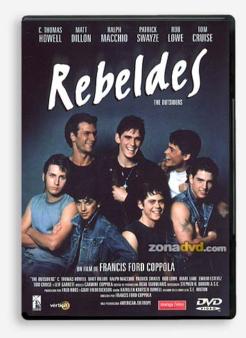 Rebeldes dvd