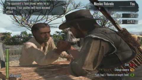 Red Dead Redemption - Arm Wrestling