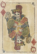 Rdr poker08 queen diamonds