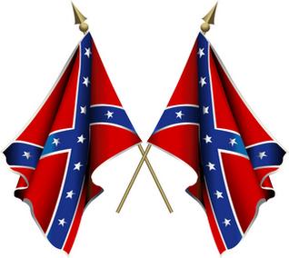 Confederate flag gif