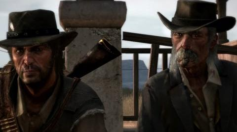 "Red Dead Redemption - mission ""The Gunslinger's Tragedy"""