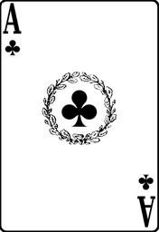 Clubs-ace