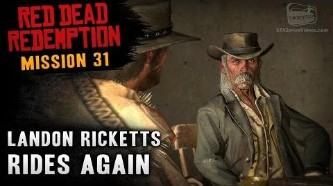 Red Dead Redemption - Mission 31 - Landon Ricketts Rides Again (Xbox One)