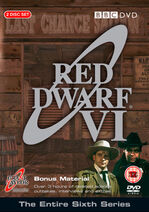 Red Dwarf VI UK DVD Cover