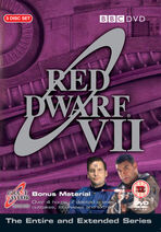 Red Dwarf VII UK DVD Cover