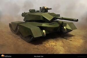 Main Battle Tank Concept Art