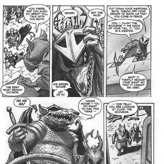 <i>Redwall: The Graphic Novel</i> First preview