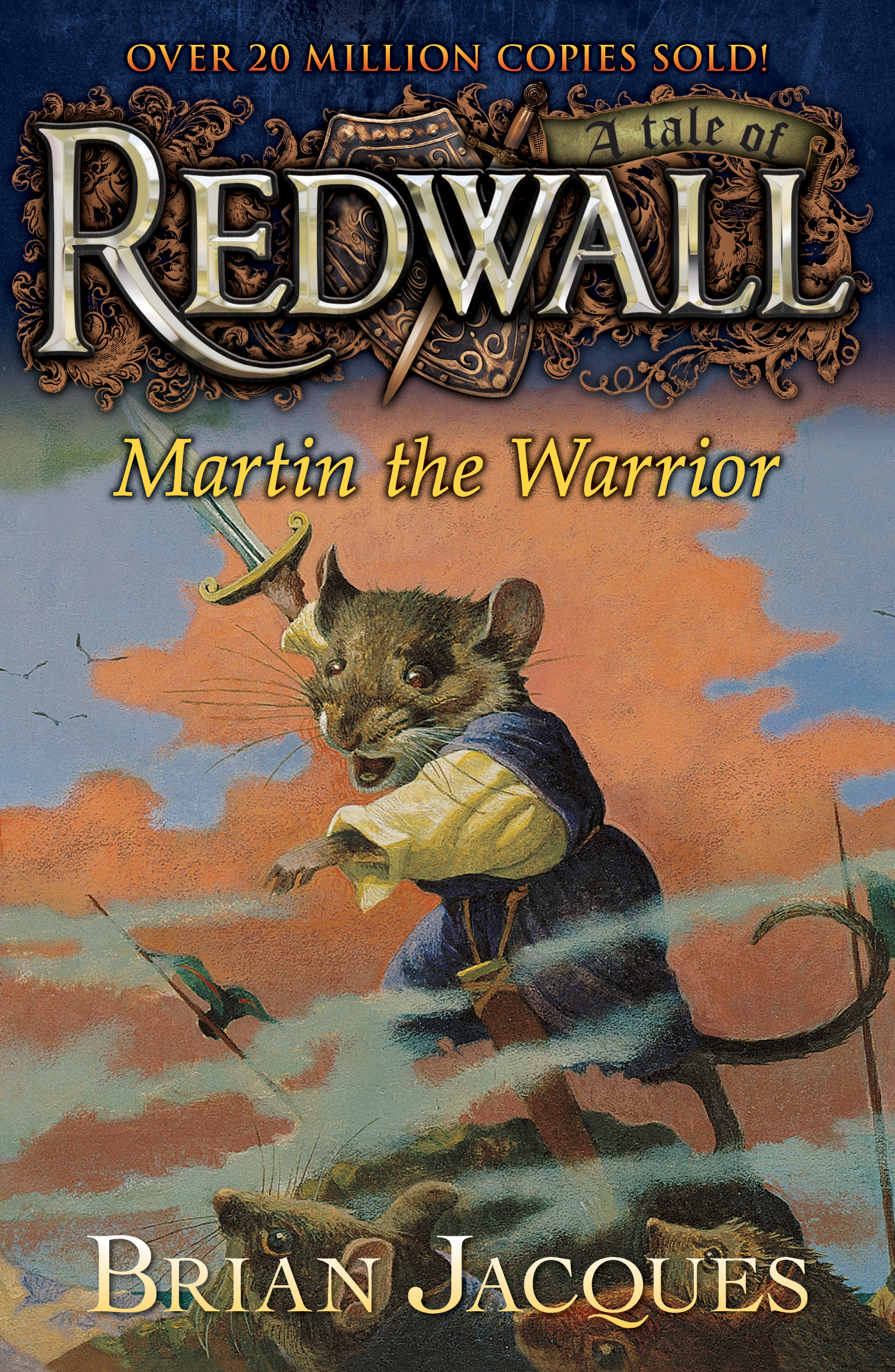 Martin the Warrior, Brian Jacques, Redwall series, authorblog, blog series, book award, fantasy award, Silmarillion Awards, best fantasy weapon, 2016, summer reads, reading, mustread, epic read, books, book love, book nerd, blogger, adventure series, YA, fantasy series, animals series, animal books, E E Rawls, Rawls E Fantasy,