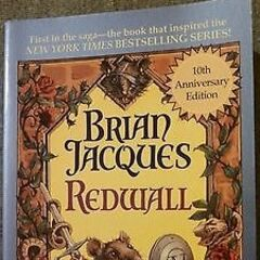 US Redwall 10th Anniversary Paperback Signed Copy