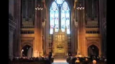 Brian Jacques memorial service at Liverpool Cathedral