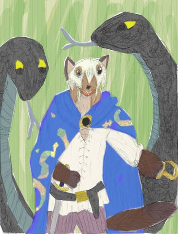 File:Dankfur Clawhook and his two Blacksnakes in color.jpeg
