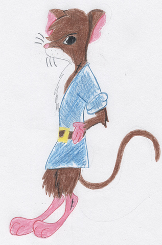 File:Young warrior mouse by Squirrelmaiden.png