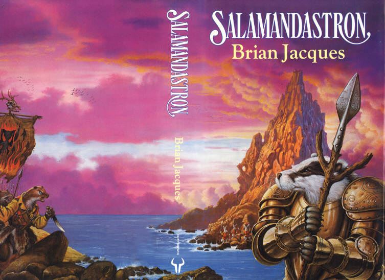a review of the book salamandastron by brian jacques Published in 1992, salamandastron is the fifth book in the series by brian  jacques, the title refers to the huge extinct volcano that stands like a.
