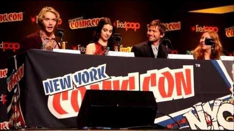 The CW's Reign Panel at New York Comic Con 2013 Part 1