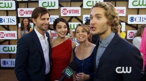 Reign - TCA Party Red Carpet Interview