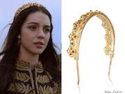 Eugenia Kim Goldtone Crown Headband
