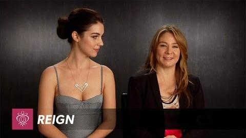 Reign - Adelaide Kane Megan Follows Interview