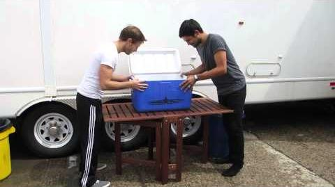 Sean Teale & Jonathon Kelt ALS Ice Bucket Challenge!