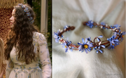 Blue Flower Wreath
