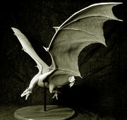 Maquette of the Female Dragon by Miles Teves