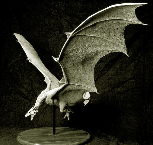 File:Maquette of the Female Dragon by Miles Teves.jpg