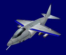American Harrier Jumpjet 2