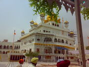 Akal Takht as it stands today