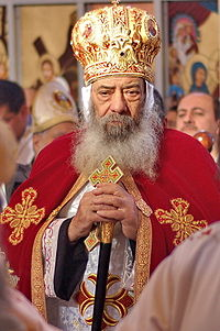 Pope Shenouda by MichaelSleman 01