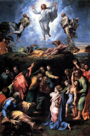 File:Transfiguration Raphael.jpg