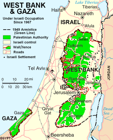 File:West Bank & Gaza Map 2007 (Settlements).png