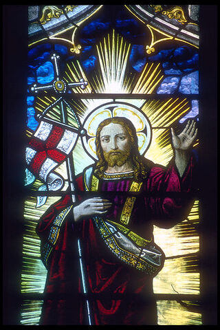 File:Rochester cathedral stained glass 2.jpg