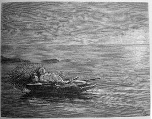 Gossen i båten