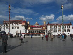 Jokhang Temple in Tibet