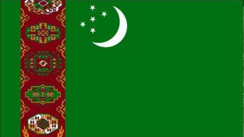 Turkmenistan National anthem Vocal