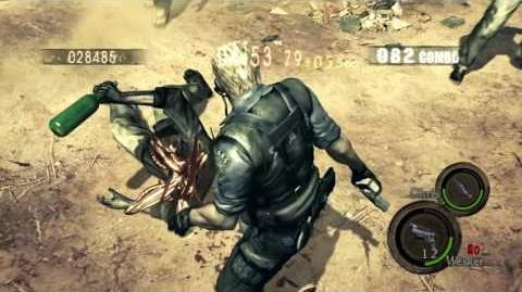 [RESIDENT EVIL 5 - PS4]Mercenaries United - DUO - PA - 917k