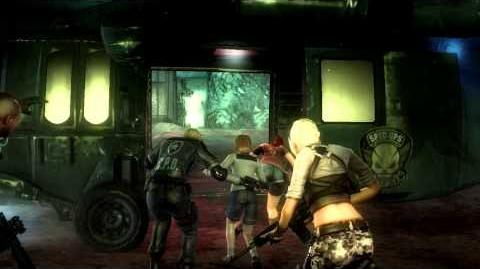 Resident Evil Operation Raccoon City all cutscenes - Success! (Party Girl) Ending