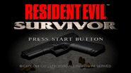 Survivor 1 start menu