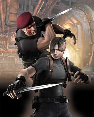 File:Resident-evil-4-wii-art-leon-krauser-knife-fight.jpg