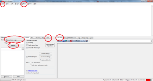 AutoWikiBrowser tutorial - part 1b