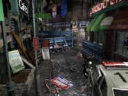 Resident Evil 3 background - Uptown - boulevard f1 - R10305