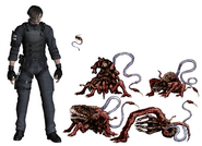 Resident Evil 4 Digital Archives - Las Plagas Size Comparison P.65