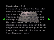 RE2 Watchman's diary 04