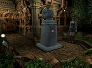 Mayor's statue