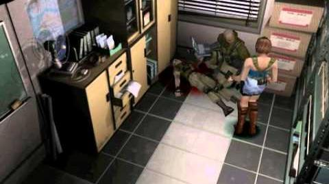 Resident Evil 3 Nemesis cutscenes - Coldhearted Soldier (alternate)