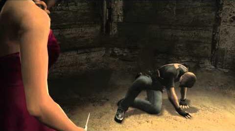 Resident Evil 4 all cutscenes - Chapter 5-4 scene 3
