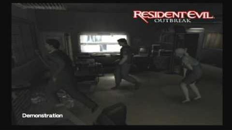 Resident Evil Outbreak cutscenes - 00 - Title menu - Gameplay demo 2